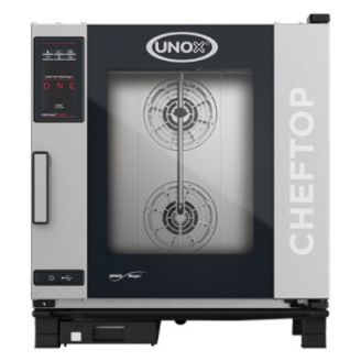 Unox ChefTop Mind.Maps ONE combi-steamer - 7x 1/1 GN, greep links